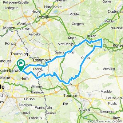 Mont de l'Enclus + Saint-Aubert