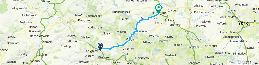 Bingley to Harrogate