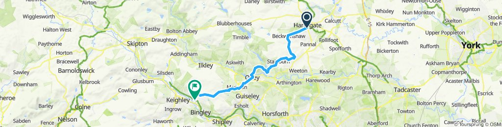 Harrogate to Morton