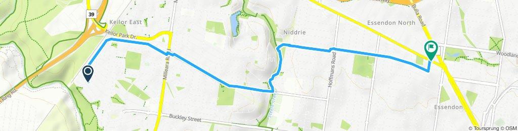 Easy ride in Keilor East