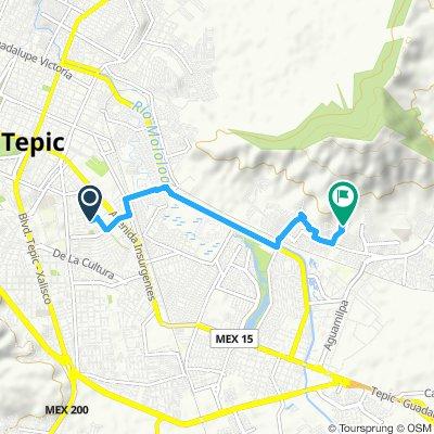 Ruta moderada en Tepic
