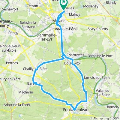 Boucle Fontainebleau - Barbizon