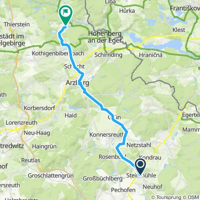 Hohenberg Eger Steinmühle