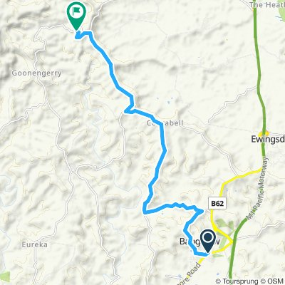 Bangalow to crystal castle