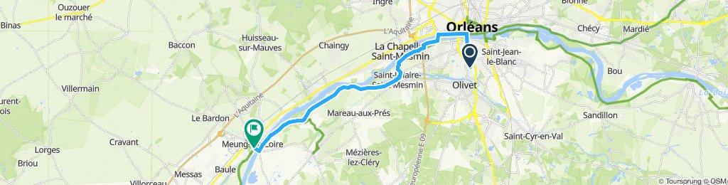Itinéraire modéré en Olivet