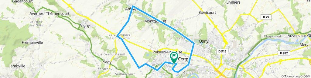 Route 1 - 20 km