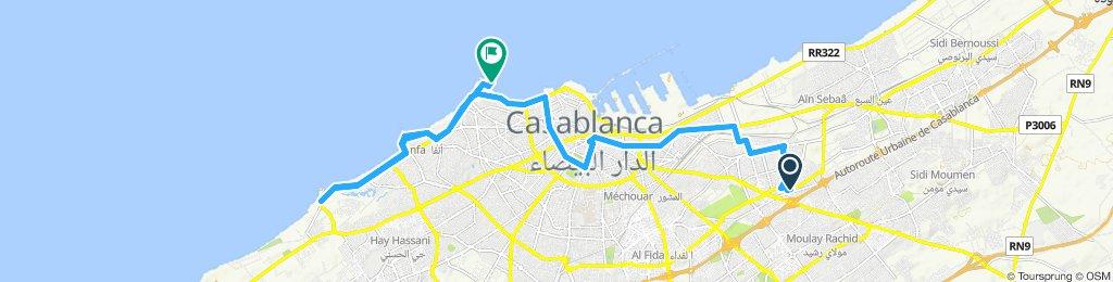 Itinéraire modéré en Hay Mohammadi