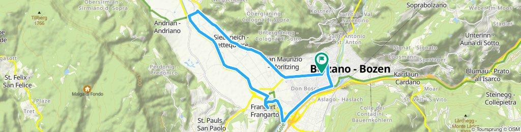 Tour veloce in Bolzano 28.09