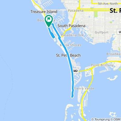 Steady ride in Treasure Island1