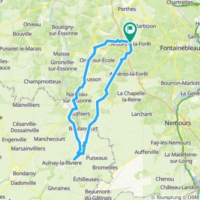 Arbonne - Ondreville - Malesherbe - Milly