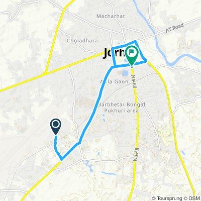 Restful route in Jorhat