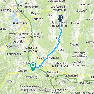 Knackige Fahrt in Ehrenhausen an der Weinstraße