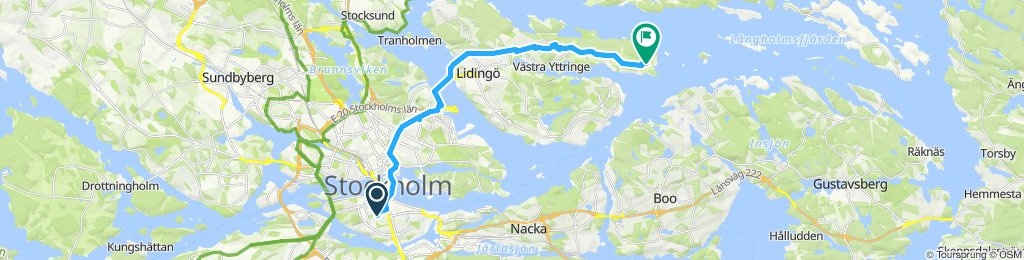another trip to the east of Stockholm