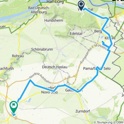 Pomalá jazda Pandorf