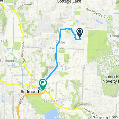 Fast ride in Woodinville