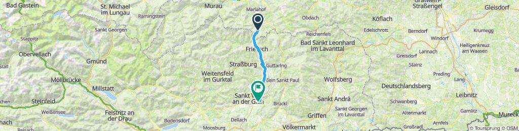 Schnelle Tour in St. Georgen am Längsee