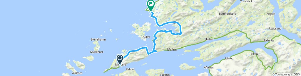 Midsund to Bud-