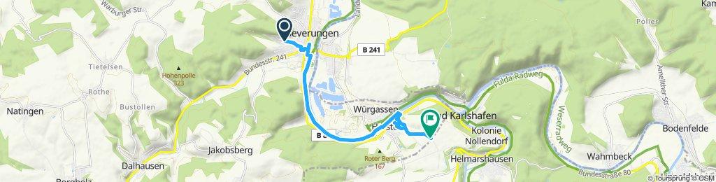 Drei Länderfahrt-Beverungen-Helmarshausen
