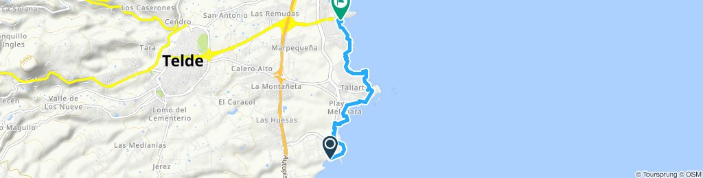 Mar Pequeña-Salinetas round trip