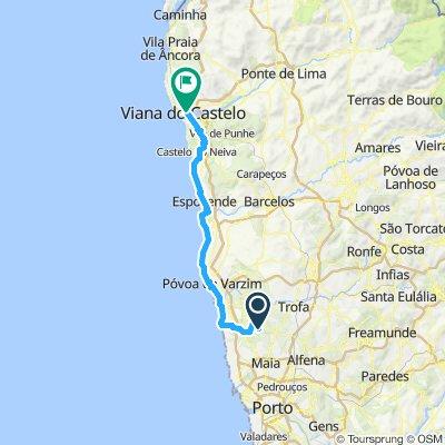 Guilhabreu - Viana (Caminho Santiago da Costa)