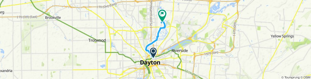 Steady ride in Dayton