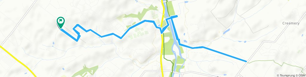 Moderate route in Collegeville