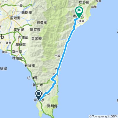 Cycling Taiwan Day 6