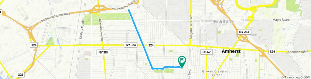 Moderate route in Buffalo