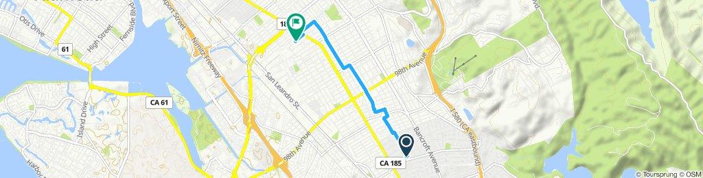 Steady ride in Oakland