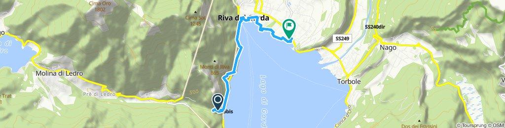 Einfache Fahrt in Riva del Garda