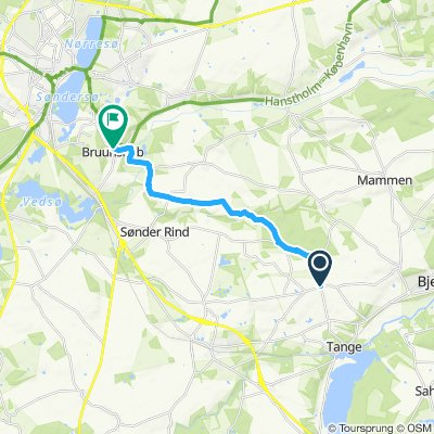 Steady ride in Viborg