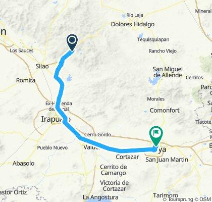 E72–Guanajuato–Celaya