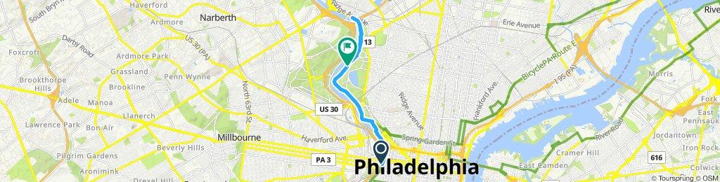 Easy ride in Philadelphia