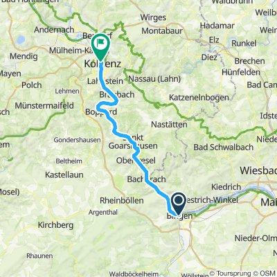 Bingen - Koblenz