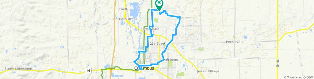 12 Mile Bicycle Boogie Route 2019