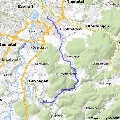 Körle - Wattenbach - Kassel