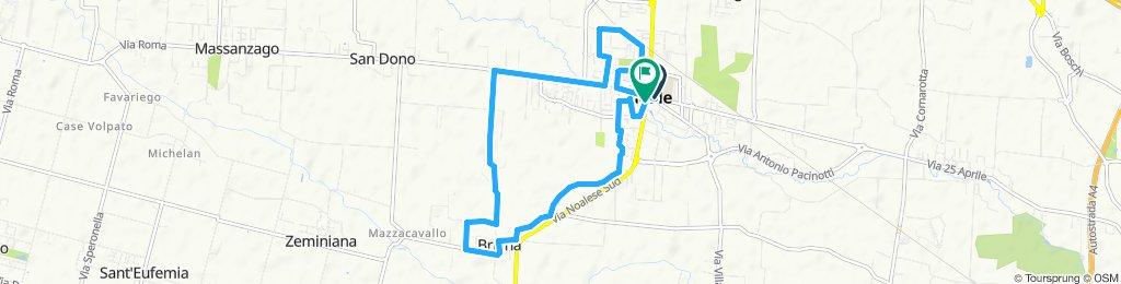 Noale 10 km corsa di Babbo Natale 2019