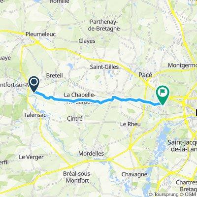 Crisp ride in Vezin-le-Coquet