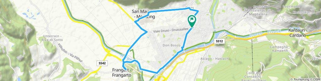 Tour veloce in Bolzano 02.09 18:00