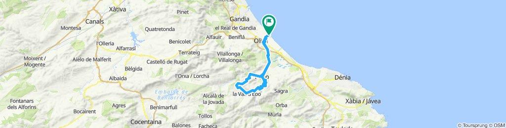 Oliva -La Vall d'Ebo