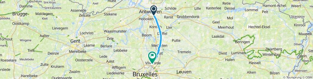 Antwerpen-Vilvoorde