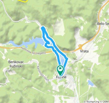 Fužine - staza 3 (oko Bajera)