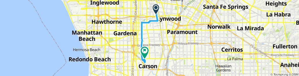 Moderate route in Carson