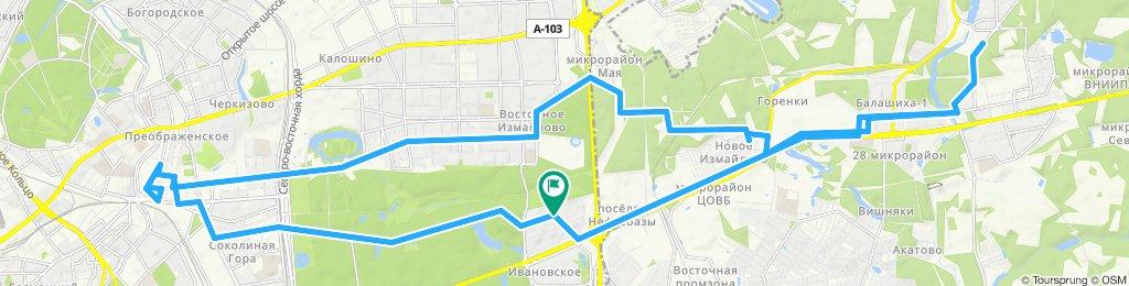 Осенние погожие велокурьерские доставки 03 10 2019
