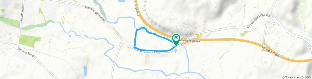 Easy ride in Bacchus Marsh