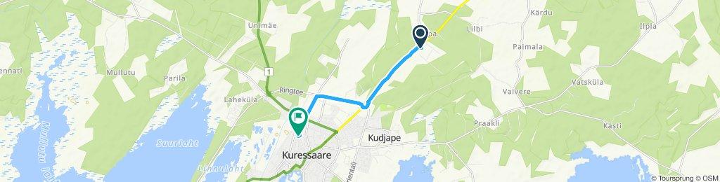 Slow ride in Kaarma