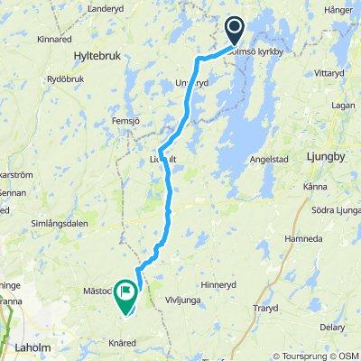 Sporty route in BredarydZ zz