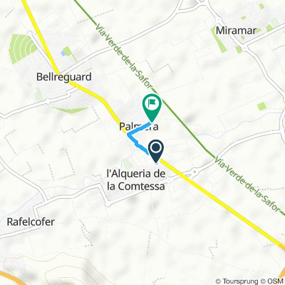 Relaxed route in Palmera