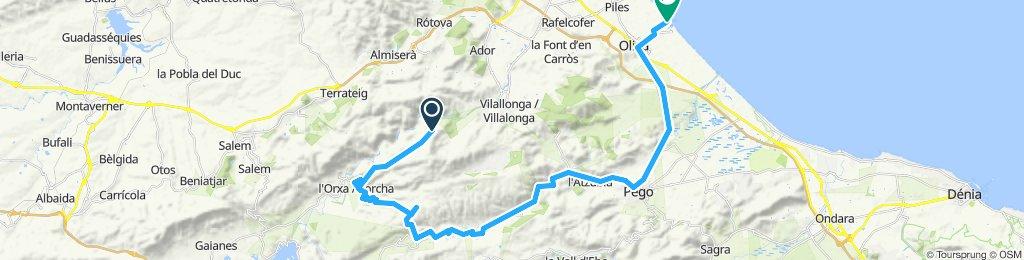 Villalonga - Orxa - La Vall de Gallinera - Oliva Part2