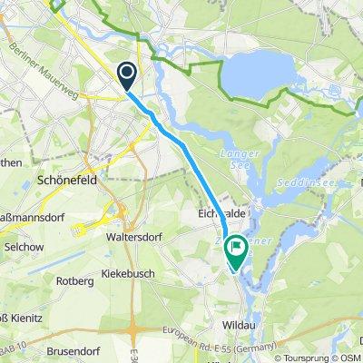 Adlershof -> DESY through the woods